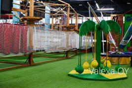 Ландшафтная искусственная трава в детских центрах